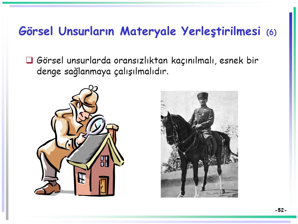 Görsel Unsurların Materyale Yerleştirilmesi (6)