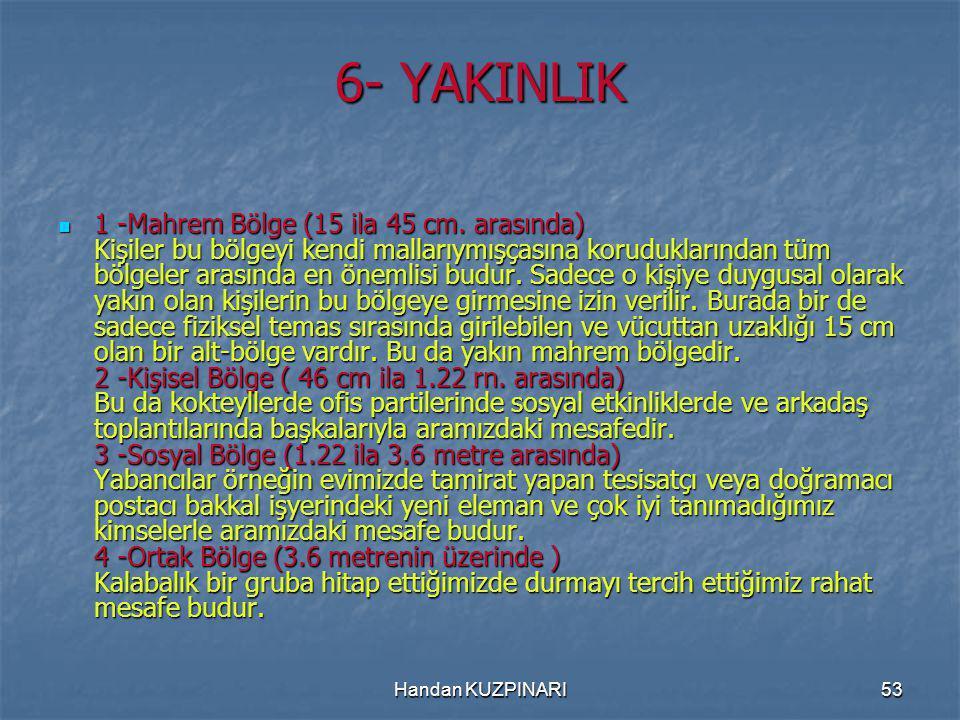 6- YAKINLIK