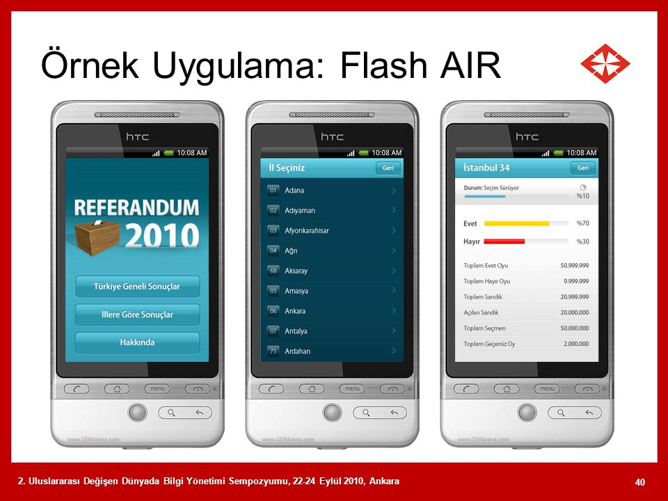 Örnek Uygulama: Flash AIR