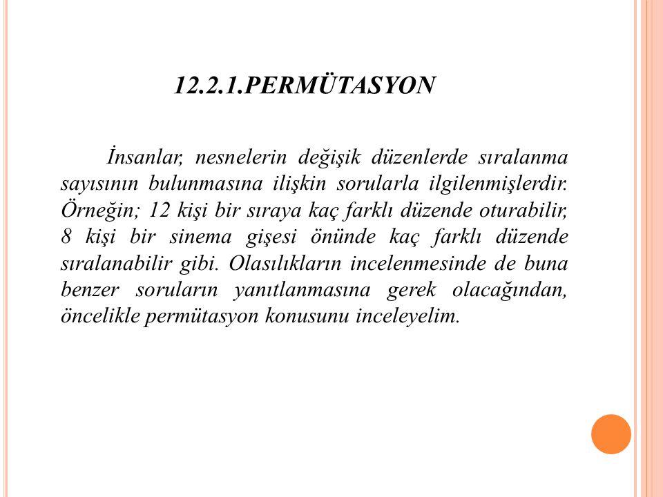 12.2.1.PERMÜTASYON