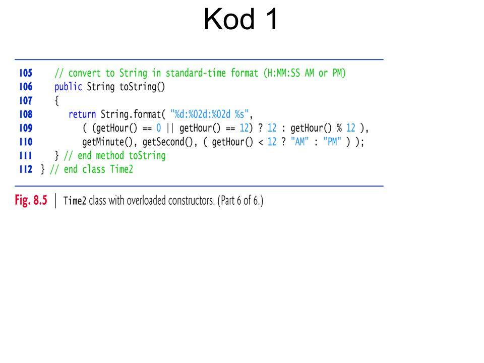 Kod 1