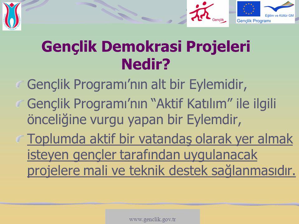 Gençlik Demokrasi Projeleri Nedir
