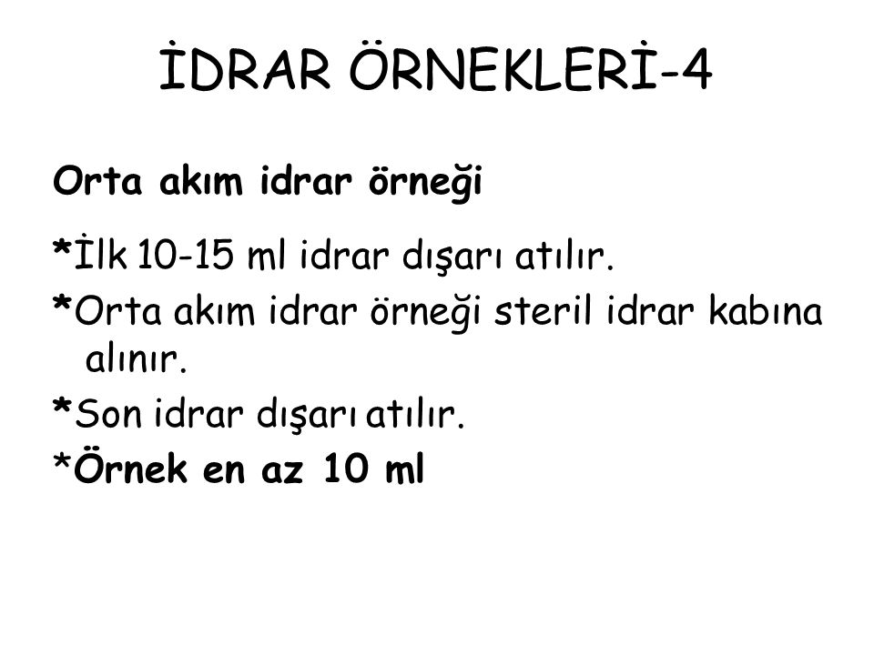 İDRAR ÖRNEKLERİ-4