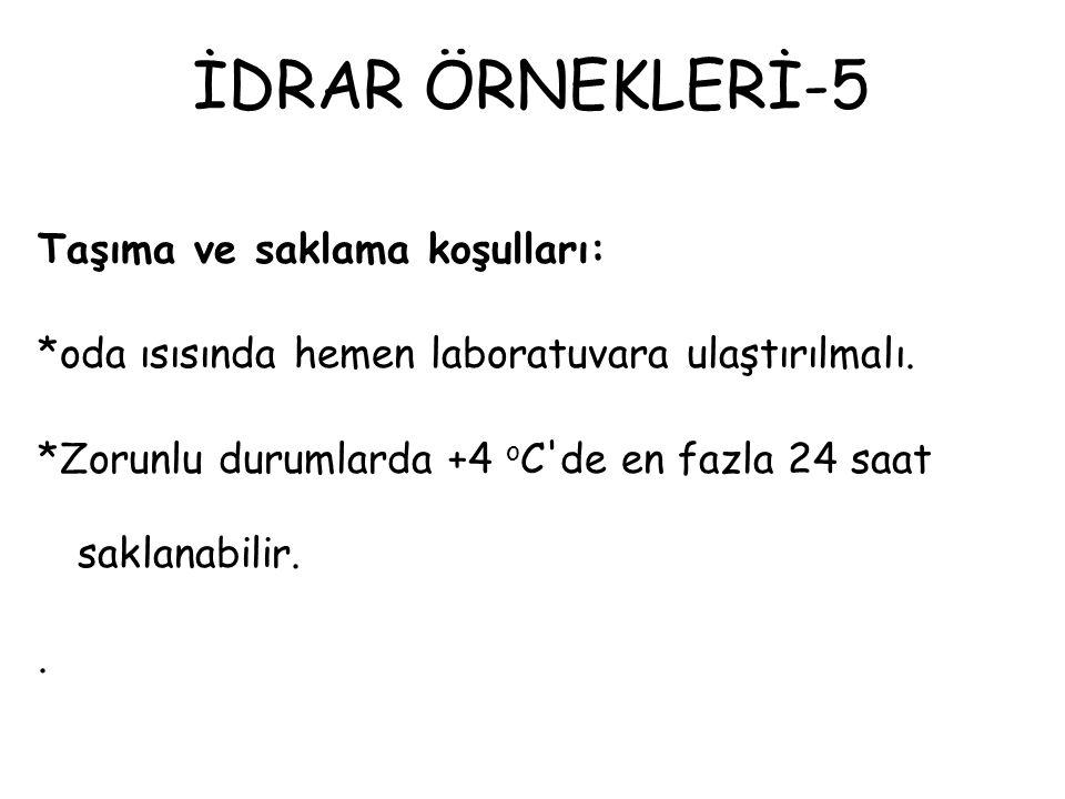 İDRAR ÖRNEKLERİ-5