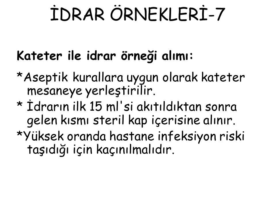İDRAR ÖRNEKLERİ-7