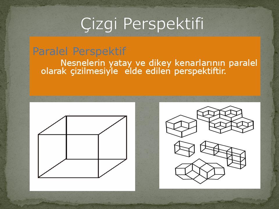 Çizgi Perspektifi Paralel Perspektif