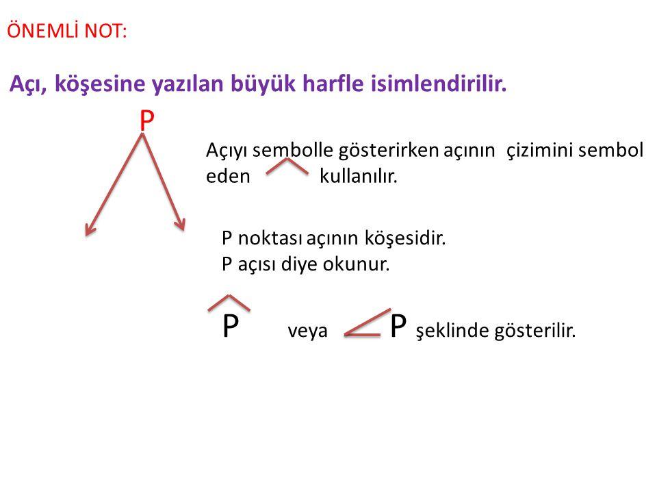 P veya P şeklinde gösterilir.