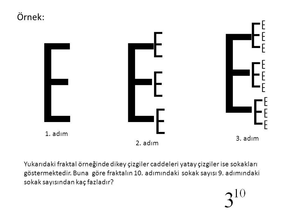 E E E E E E E E E E E E E E E E E E Örnek: 1. adım 3. adım 2. adım
