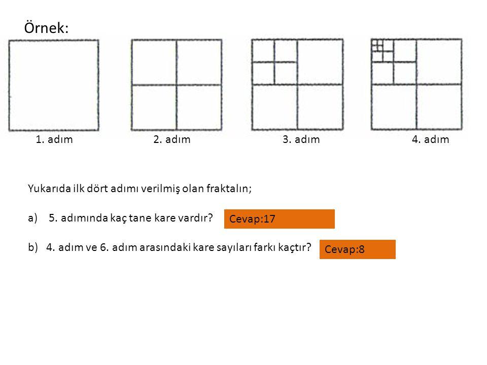 Örnek: 1. adım 2. adım 3. adım 4. adım