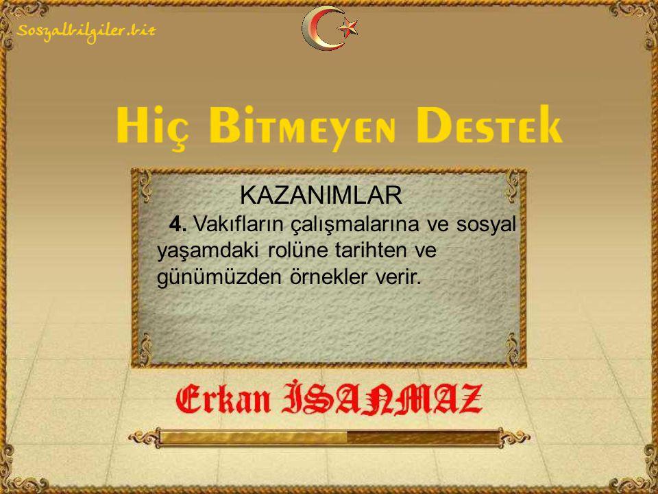 KAZANIMLAR 4.