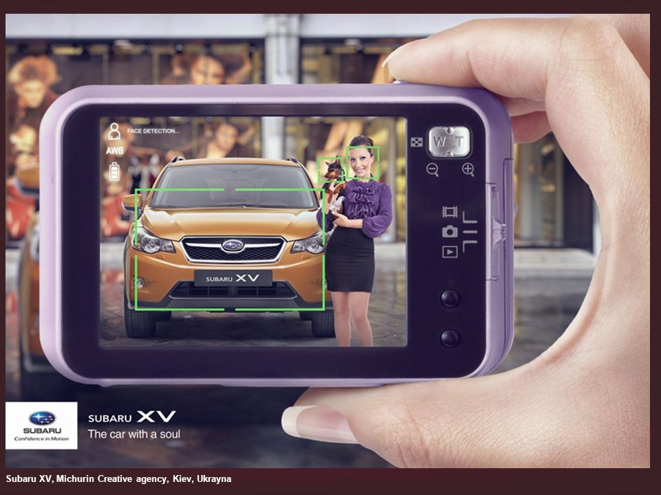 Subaru XV, Michurin Creative agency, Kiev, Ukrayna