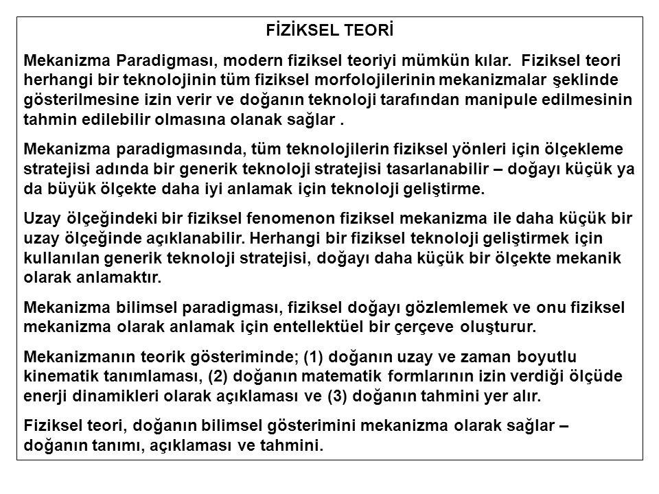 FİZİKSEL TEORİ