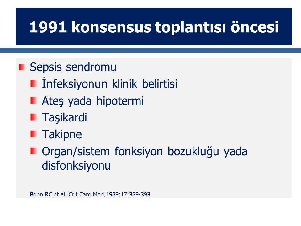 1991 konsensus toplantısı öncesi