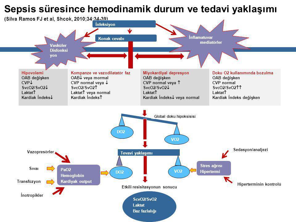 Sepsis süresince hemodinamik durum ve tedavi yaklaşımı