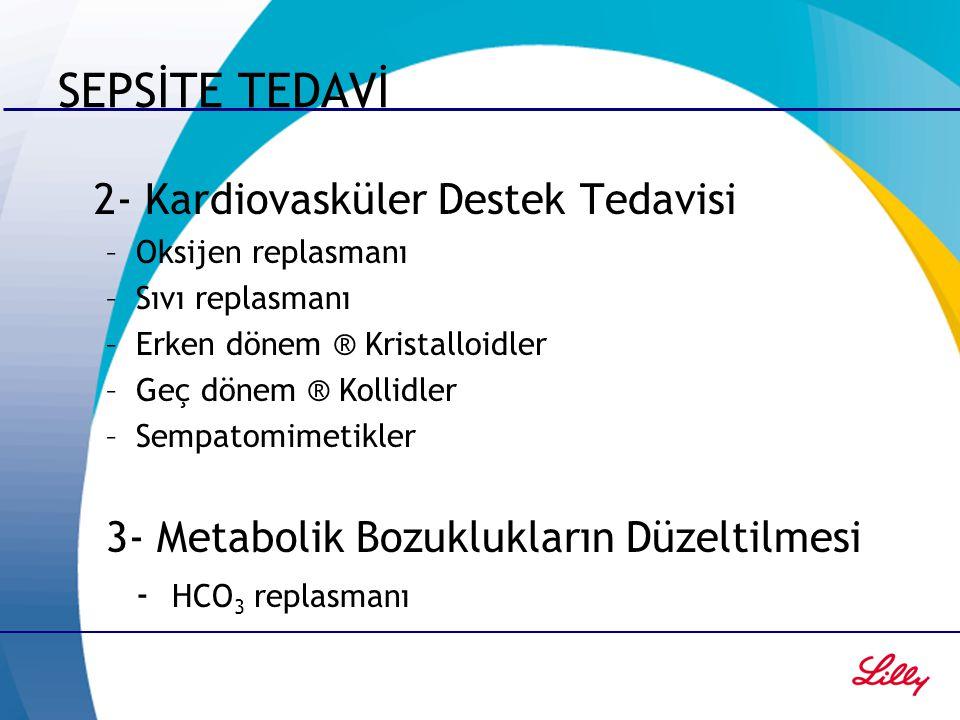 SEPSİTE TEDAVİ 2- Kardiovasküler Destek Tedavisi