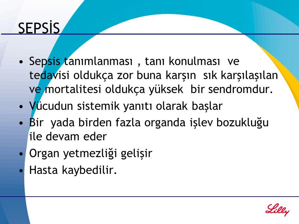 SEPSİS Sepsis tanımlanması , tanı konulması ve tedavisi oldukça zor buna karşın sık karşılaşılan ve mortalitesi oldukça yüksek bir sendromdur.