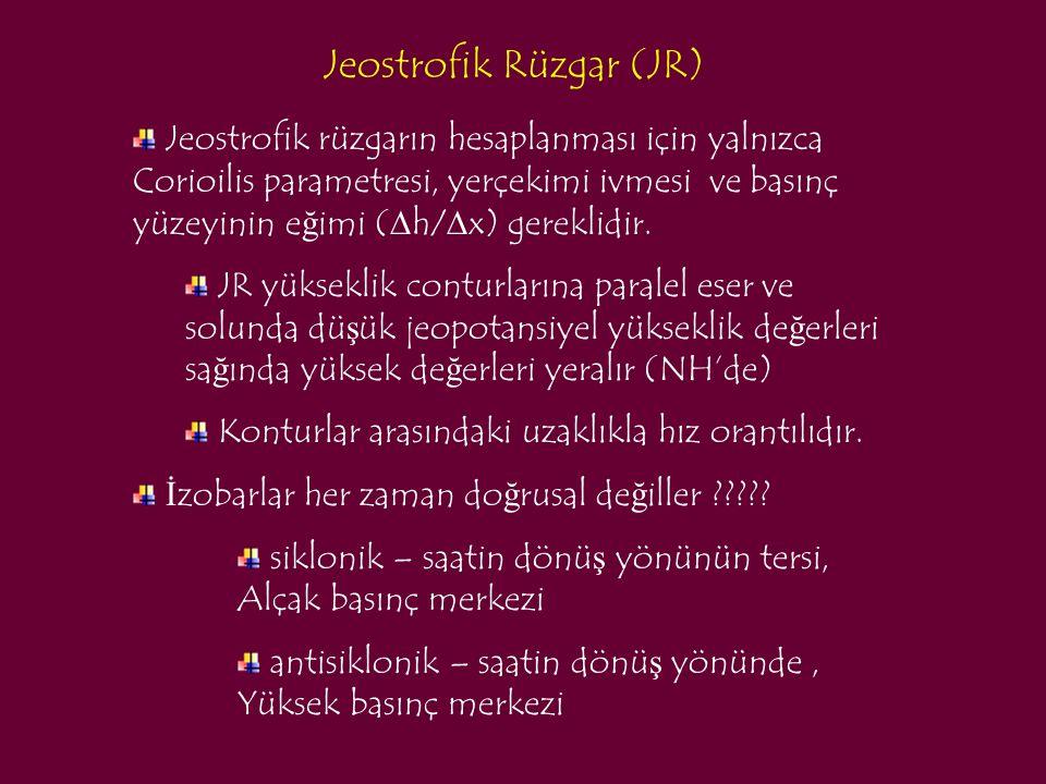 Jeostrofik Rüzgar (JR)