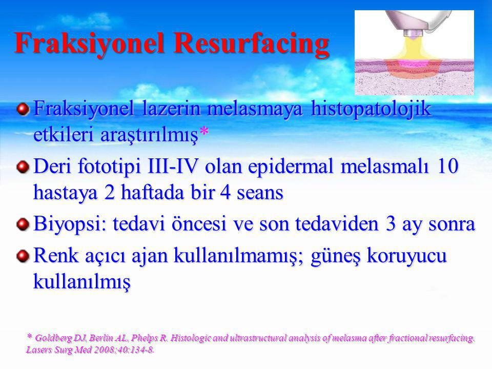 Fraksiyonel Resurfacing