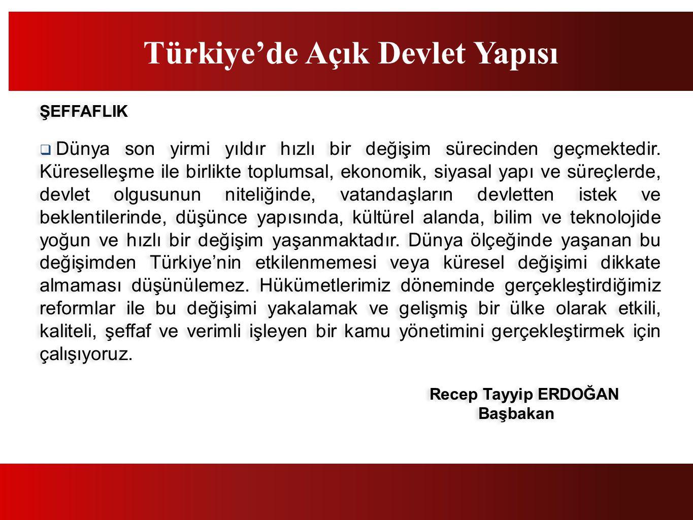 Türkiye'de Açık Devlet Yapısı