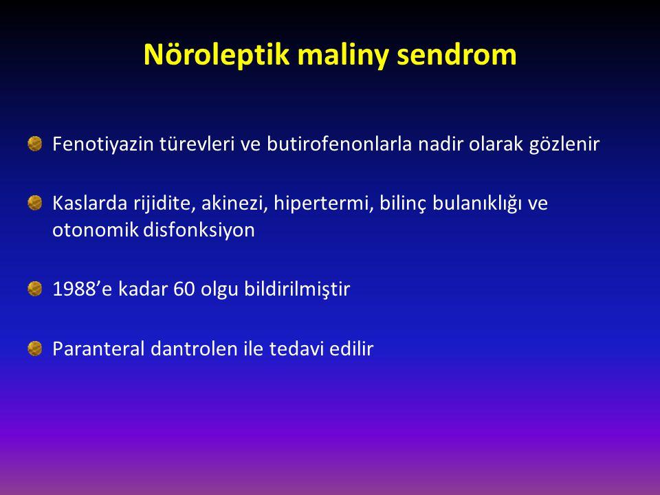 Nöroleptik maliny sendrom