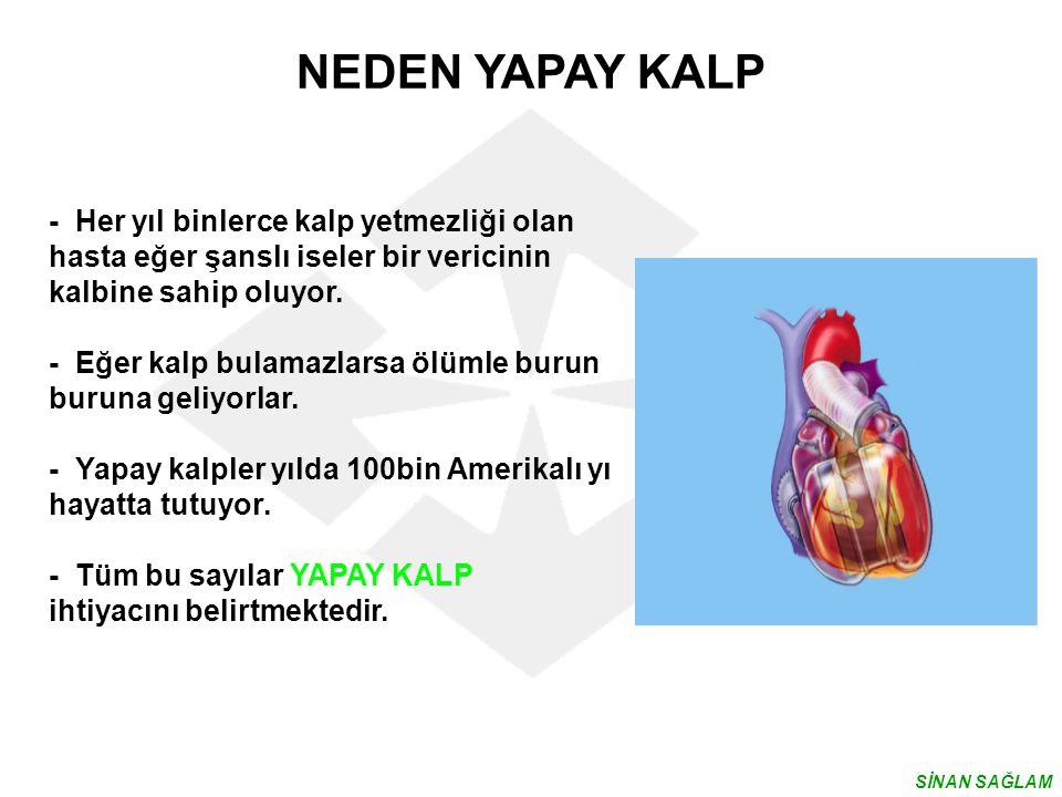 NEDEN YAPAY KALP - Her yıl binlerce kalp yetmezliği olan hasta eğer şanslı iseler bir vericinin kalbine sahip oluyor.