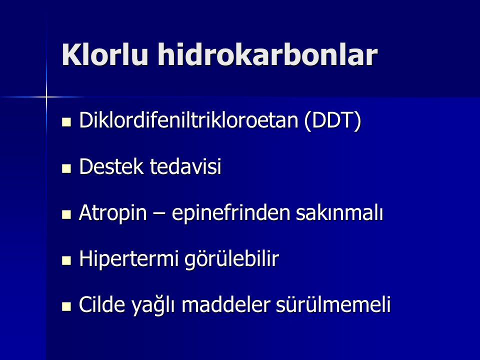 Klorlu hidrokarbonlar