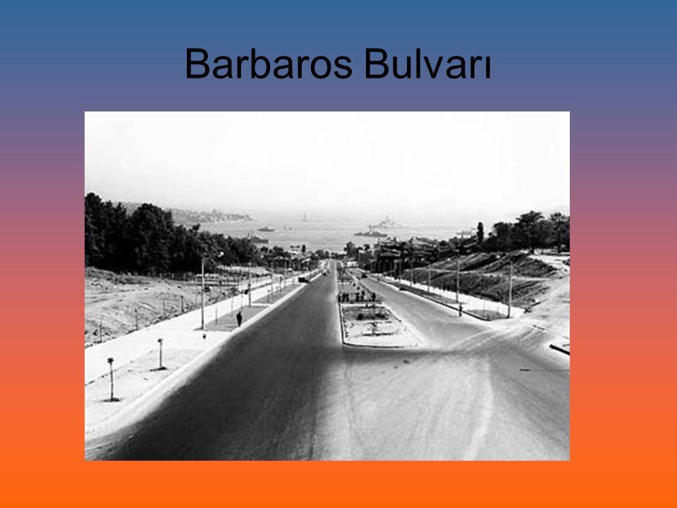 Barbaros Bulvarı