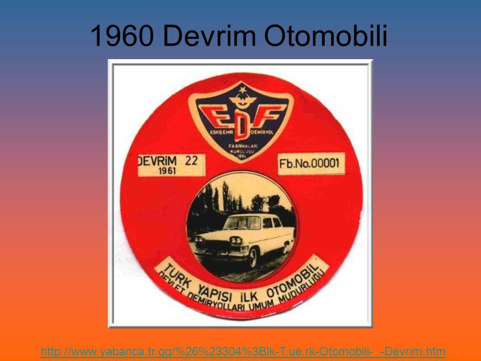 1960 Devrim Otomobili http://www.yabanca.tr.gg/%26%23304%3Blk-T.ue.rk-Otomobili-_-Devrim.htm