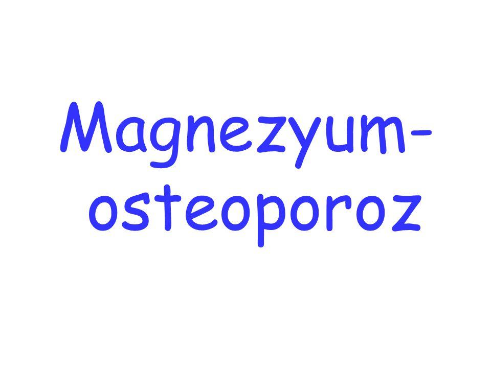 Magnezyum-osteoporoz