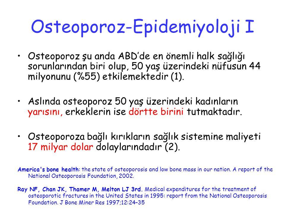 Osteoporoz-Epidemiyoloji I