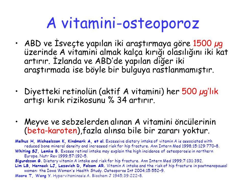 A vitamini-osteoporoz