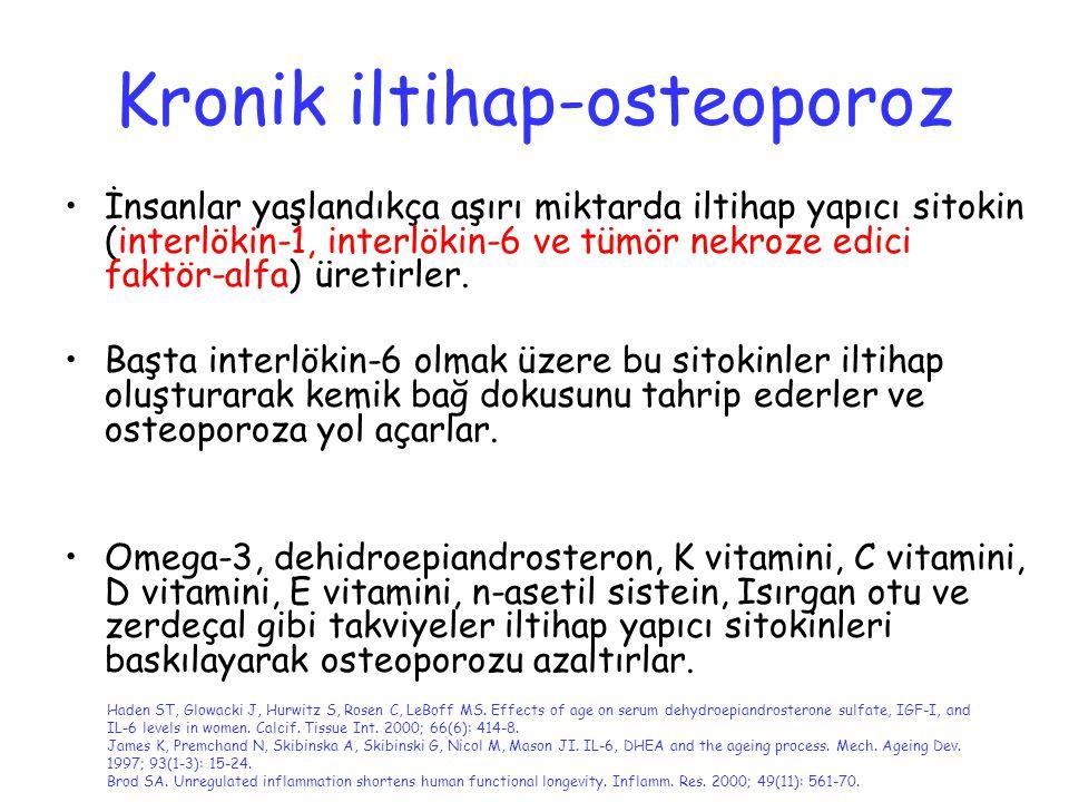 Kronik iltihap-osteoporoz
