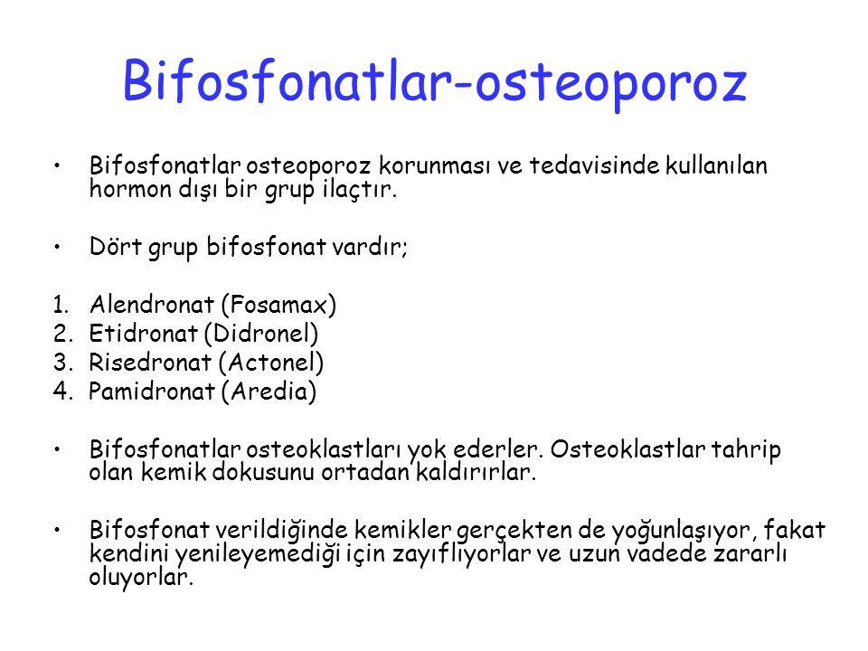 Bifosfonatlar-osteoporoz