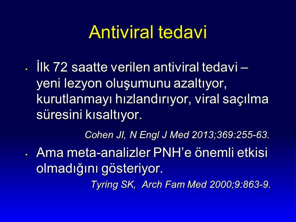 Antiviral tedavi