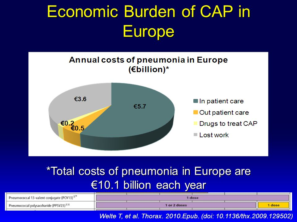 Economic Burden of CAP in Europe