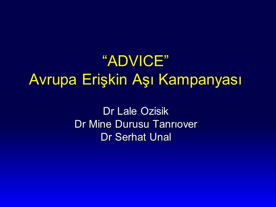 ADVICE Avrupa Erişkin Aşı Kampanyası