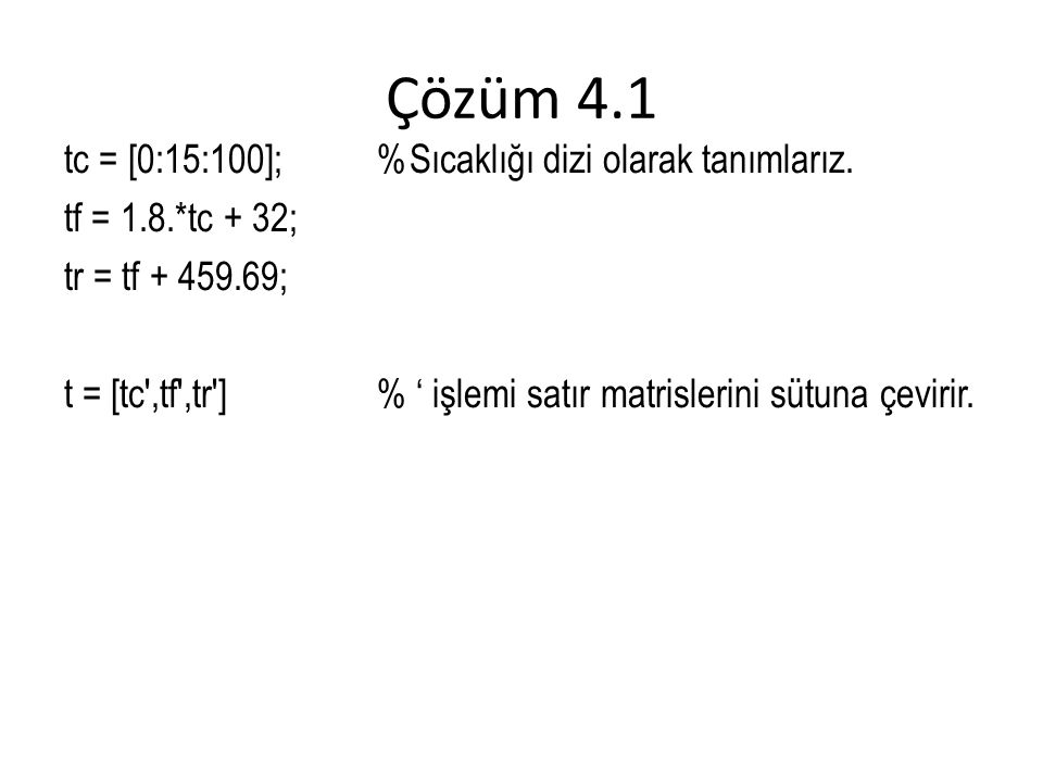 Çözüm 4.1