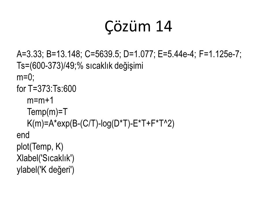 Çözüm 14