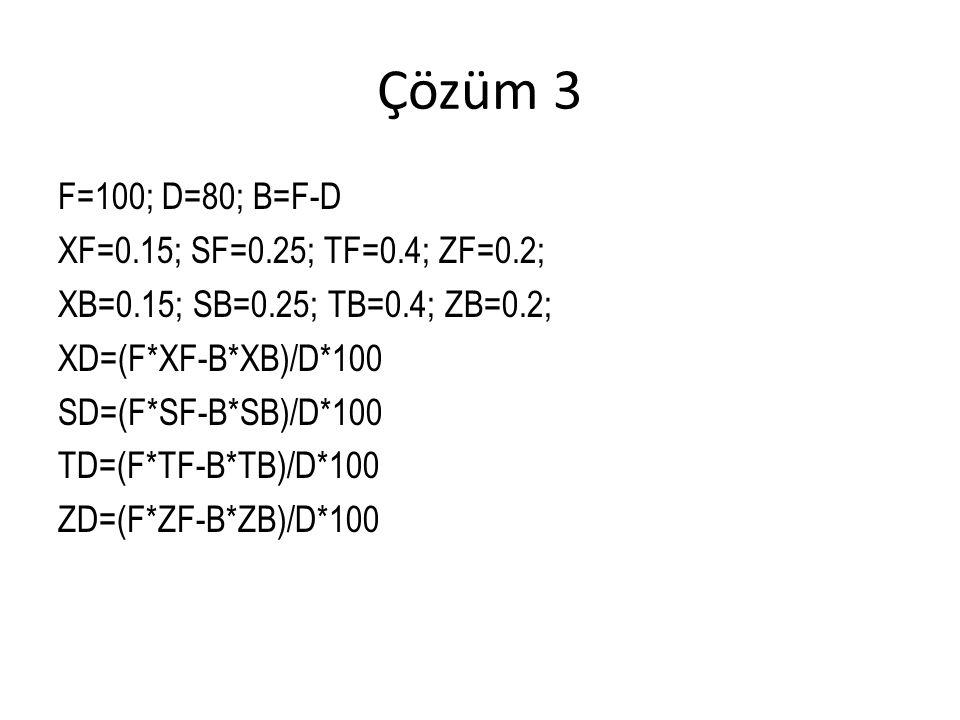 Çözüm 3