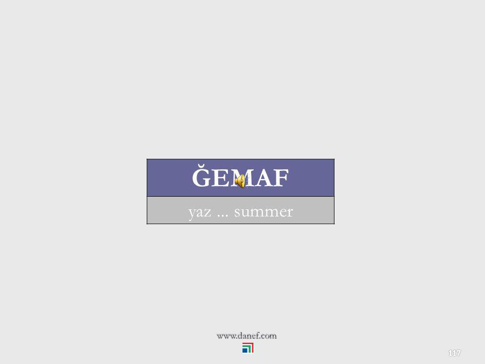 ĞEMAF yaz ... summer www.danef.com