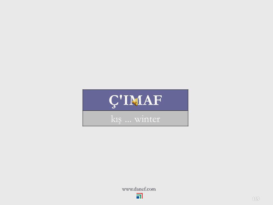 Ç IMAF kış ... winter www.danef.com