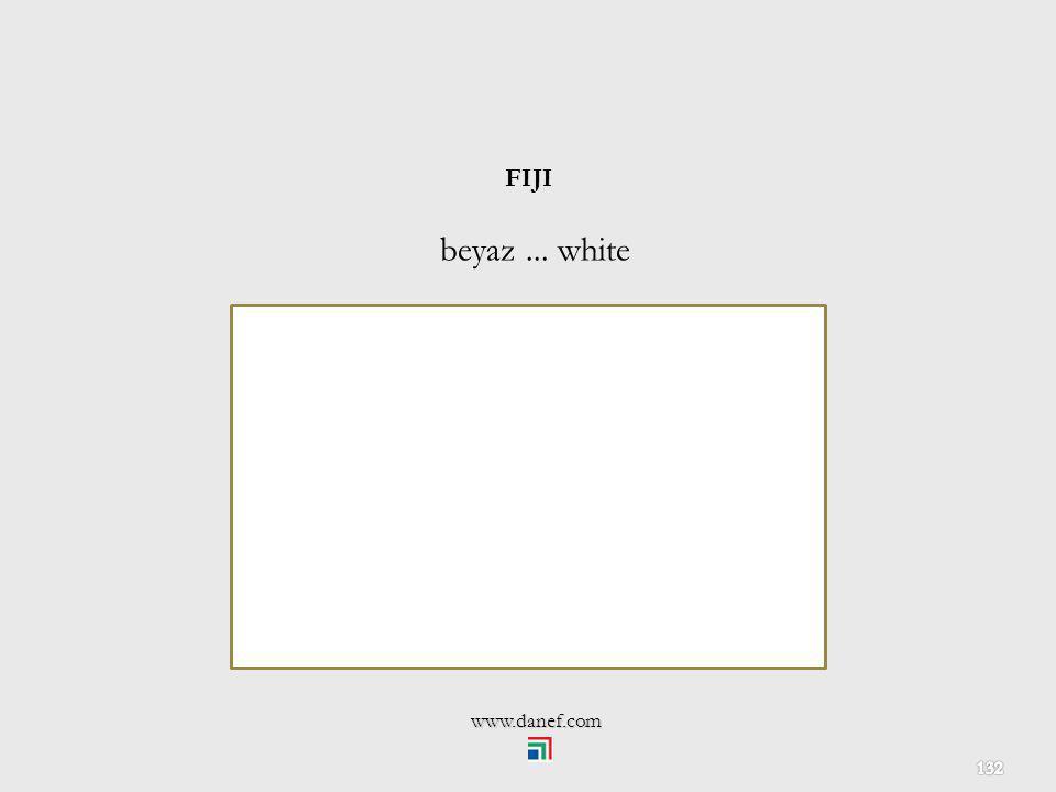 FIJI beyaz ... white www.danef.com