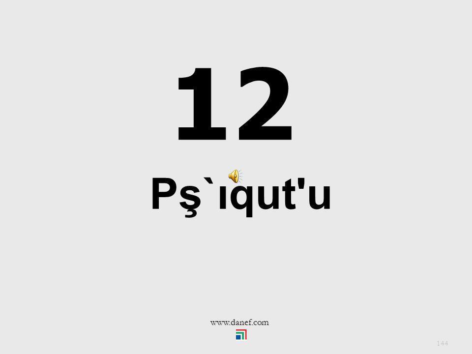 12 Pş`ıqut u www.danef.com