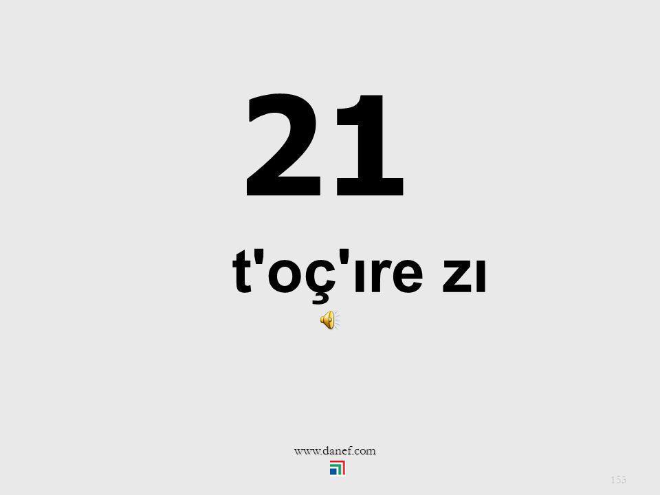 21 t oç ıre zı www.danef.com