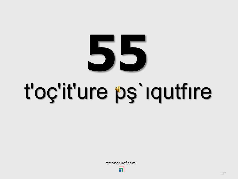 55 t oç it ure pş`ıqutfıre www.danef.com