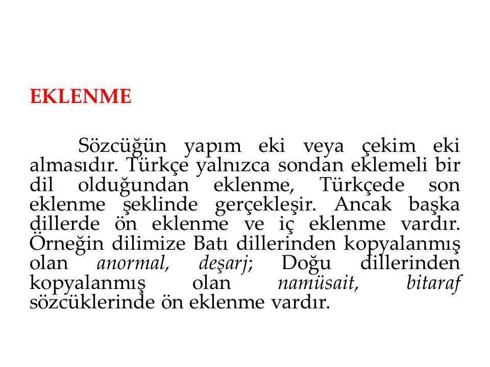 EKLENME