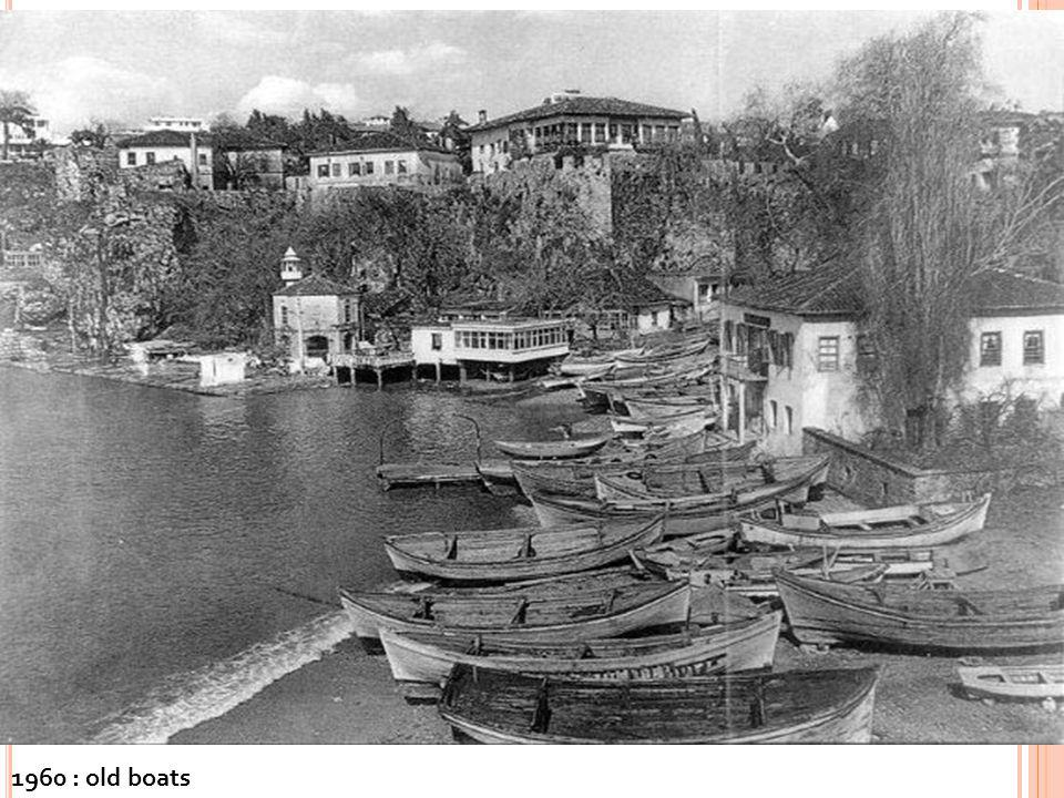 1960 : old boats