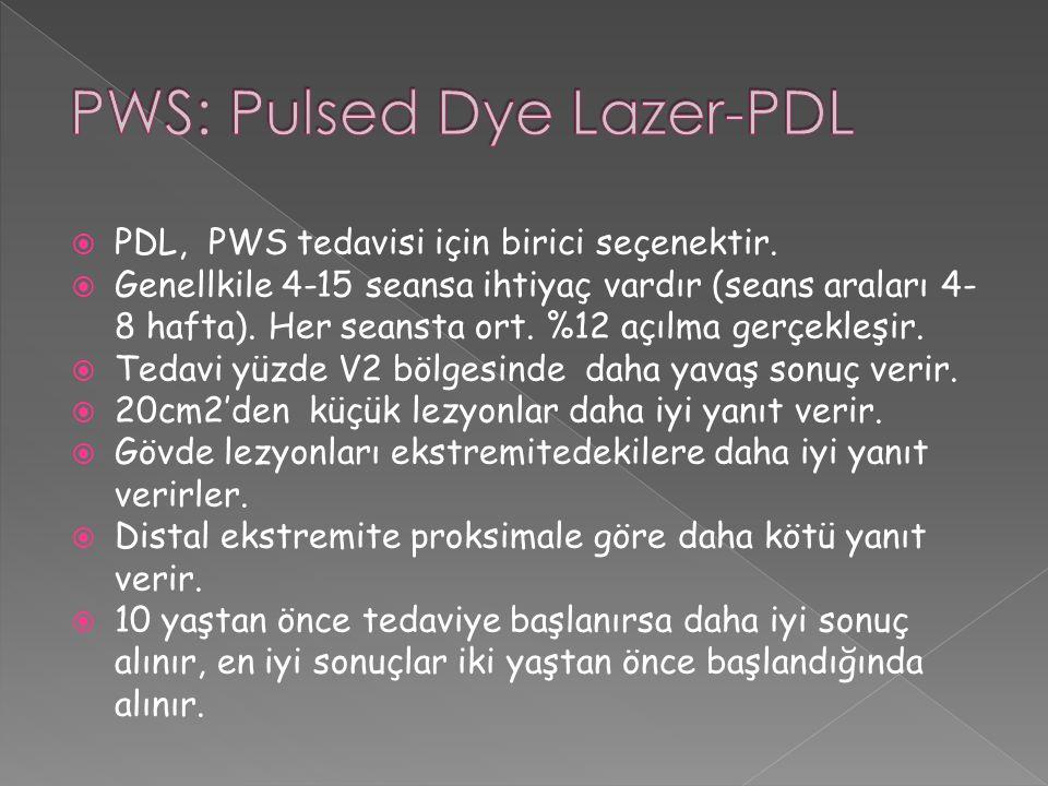 PWS: Pulsed Dye Lazer-PDL
