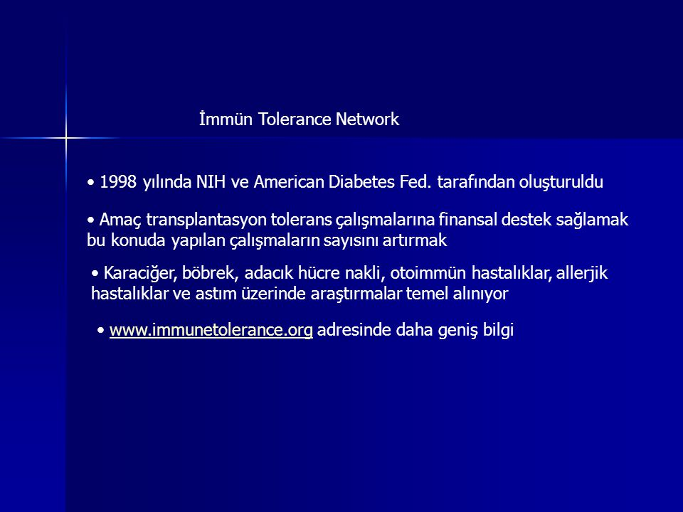 İmmün Tolerance Network