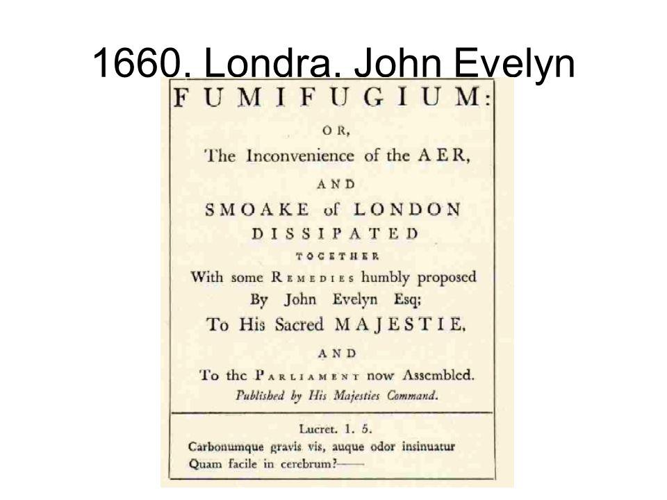 1660, Londra, John Evelyn